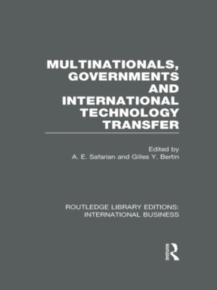 Multinationals, Governments and International Technology Transfer