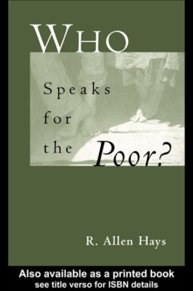 Who Speaks for the Poor