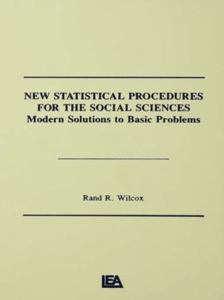 New Statistical Procedures for the Social Sciences