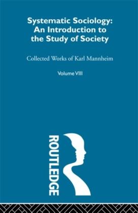 Systematic Sociology V 8