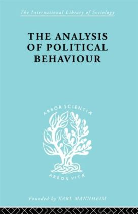 Analysis of Political Behaviour