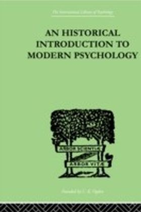 Historical Introduction To Modern Psychology