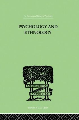 Psychology and Ethnology