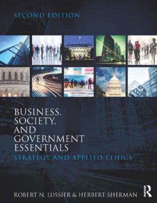 Business, Government & Society Essentials, 2E