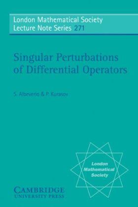 Singular Perturbations of Differential Operators