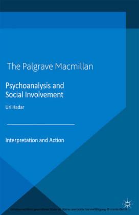 Psychoanalysis and Social Involvement