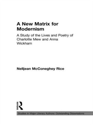 New Matrix for Modernism