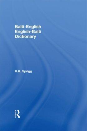 Balti-English / English-Balti Dictionary