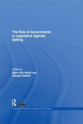 Role of Governments in Legislative Agenda Setting