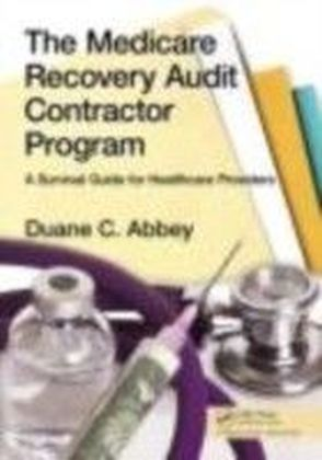 Medicare Recovery Audit Contractor Program