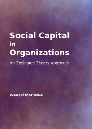 Social Capital in Organizations