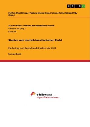Studien zum deutsch-brasilianischen Recht