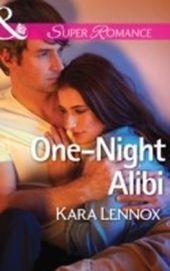 One-Night Alibi (Mills & Boon Superromance) (Project Justice - Book 7)
