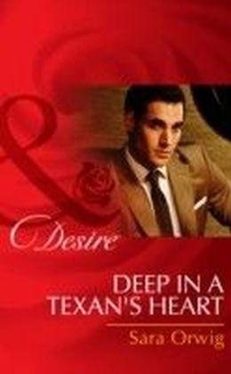 Deep in a Texan's Heart (Mills & Boon Desire) (Texas Cattleman's Club