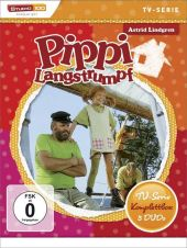 Pippi Langstrumpf TV-Serien Box, 5 DVDs Cover