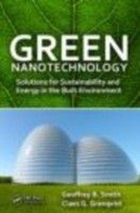 Green Nanotechnology