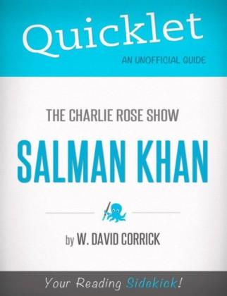 Quicklet on The Charlie Rose Show: Salman Khan