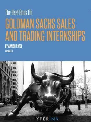 Best Book On Goldman Sachs Sales And Trading Internships