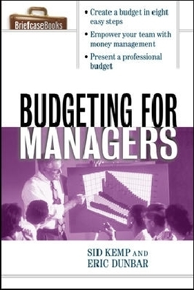 Budgeting for Managers