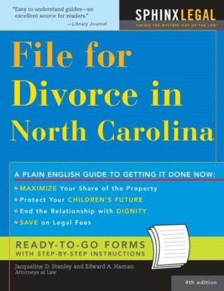 File for Divorce in North Carolina