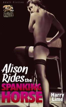 Allison Rides the Spanking Horse