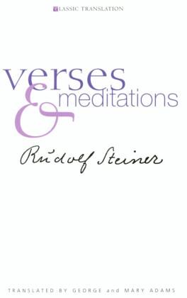 Verses and Meditation