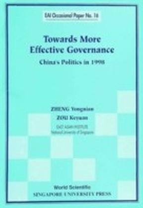 Towards More Effective Governance