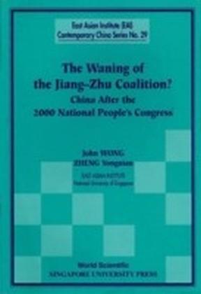 The Waning Of The Jiang-Zhu Coalition
