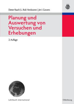 Planung und Auswertung von Versuchen und Erhebungen