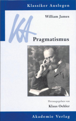 William James: Pragmatismus
