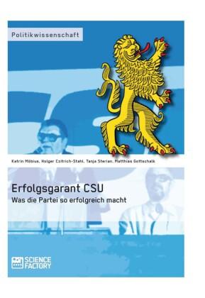 Erfolgsgarant CSU