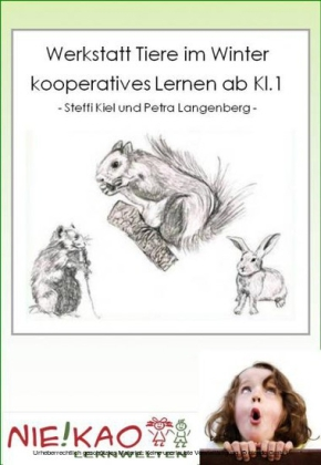 Werkstatt Tiere im Winter - kooperatives Lernen ab Kl.1
