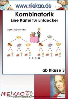 Kombinatorik in der Grundschule - Kartei für Entdecker
