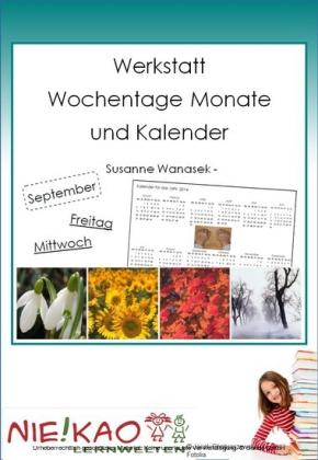 """""""Werkstatt - """"""""Wochentage Monate und Kalender"""""""""""""""