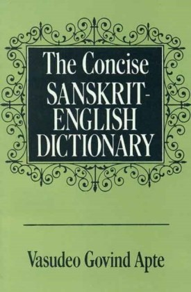 Concise Sanskrit English Dictionary