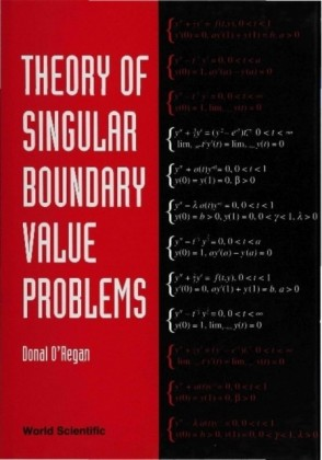 THEORY OF SINGULAR BOUNDARY VALUE PROBLEMS