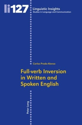 Full-verb Inversion in Written and Spoken English