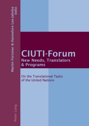 CIUTI-Forum New Needs, Translators & Programs