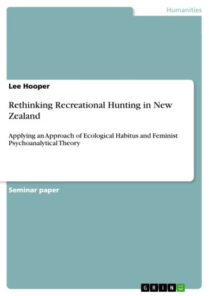 Rethinking Recreational Hunting in New Zealand