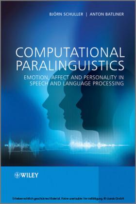 Computational Paralinguistics