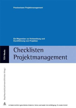 Checklisten Projektmanagement (E-Book, PDF)
