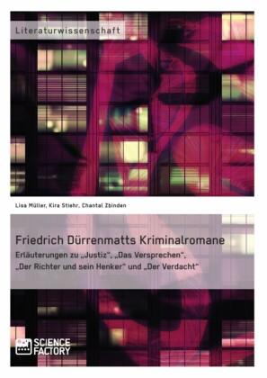 Friedrich Dürrenmatts Kriminalromane