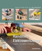 Handbuch Elektrowerkzeuge, m. DVD Cover