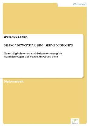 Markenbewertung und Brand Scorecard