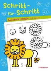 Schritt-für-Schritt - Zeichenschule ab 6 Jahren Cover