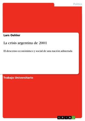 La crisis argentina de 2001