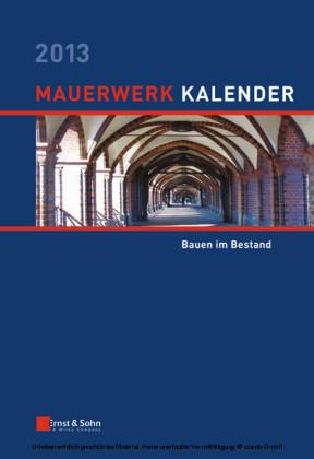 Mauerwerk-Kalender 2013