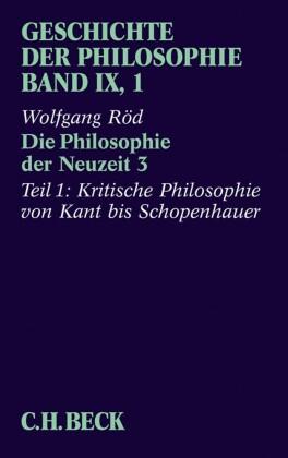 Geschichte der Philosophie Bd. 9/1: Die Philosophie der Neuzeit 3