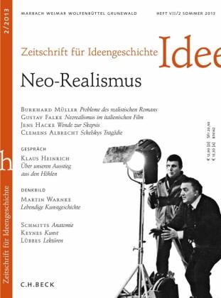 Zeitschrift für Ideengeschichte Heft VII/2 Sommer 2013