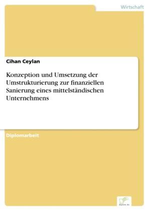 Konzeption und Umsetzung der Umstrukturierung zur finanziellen Sanierung eines mittelständischen Unternehmens